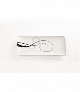Podnos White Basics Breeze 40x20cm