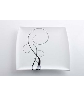 Podnos White Basics Breeze 26x26cm