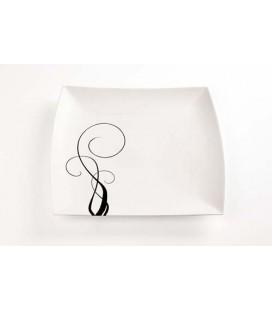 Podnos White Basics Breeze 36x36cm