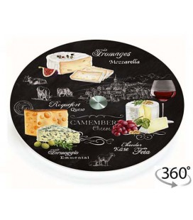 Otočný tanier CHEESE LAZY SUSAN