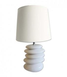 Lampa - biele kamene