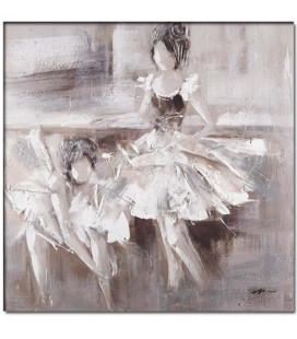 Obraz ručne maľovaný Baleríny