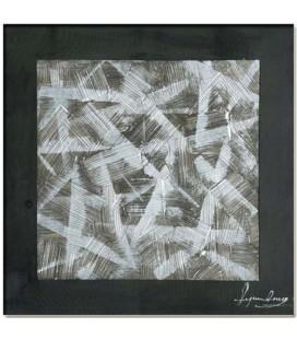 Obraz ručne maľovaný Abstrakt čierný
