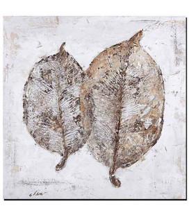 Obraz ručne maľovaný Listie