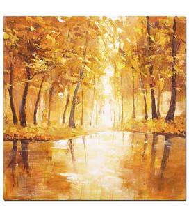 Obraz ručne maľovaný Jeseň
